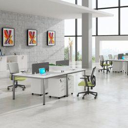 Kantoor werkstation tabel