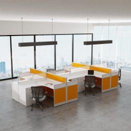 Table de travail de bureau