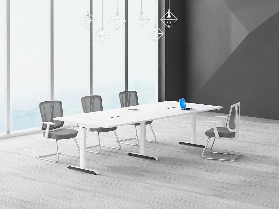 Mesa de reunião da conferência