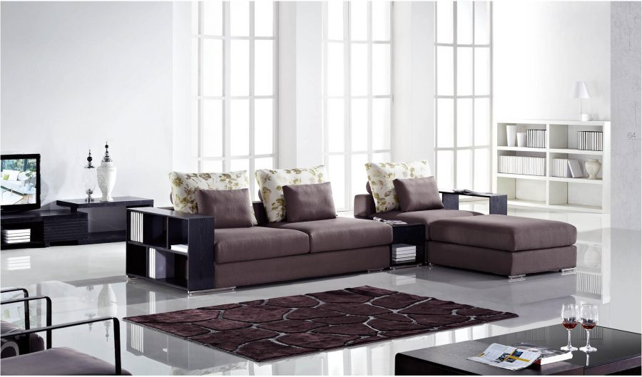 Conjunto de sofás de muebles de oficina