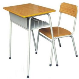School chair and desk