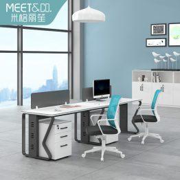 Puesto de trabajo modular moderno