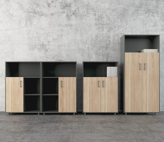 Wooden Filing cabinet RECO-WJG-B01