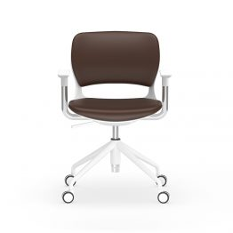 Leather Training Office Chair