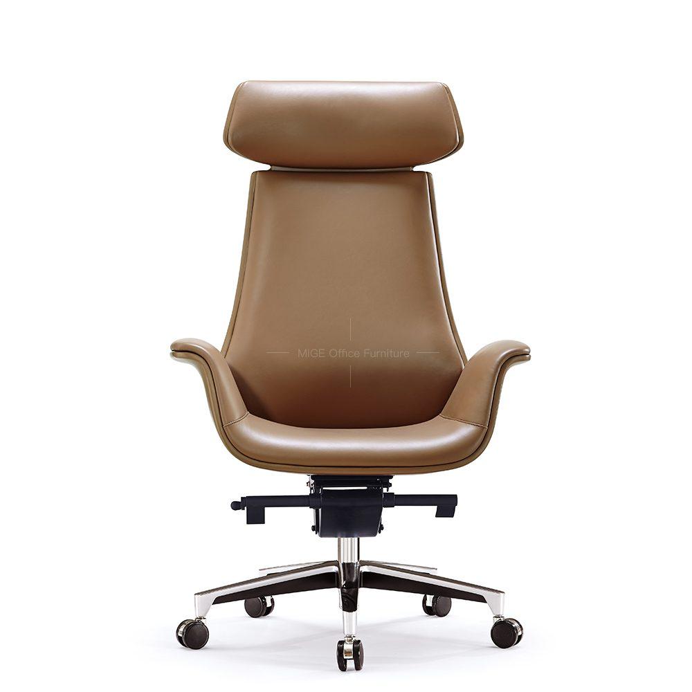 Cadeira de escritório de couro PU