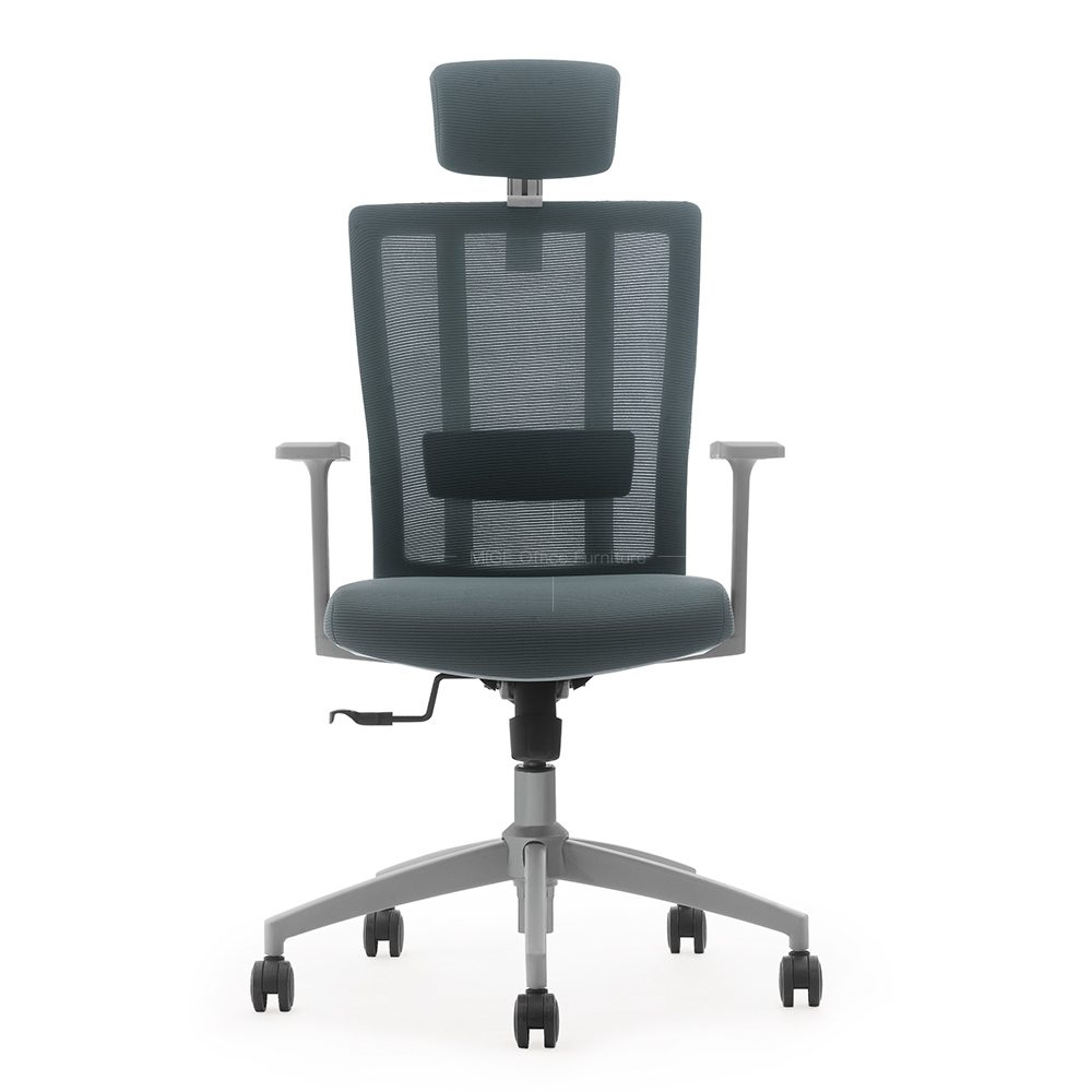 كرسي مكتب خلفي مرتفع مريح