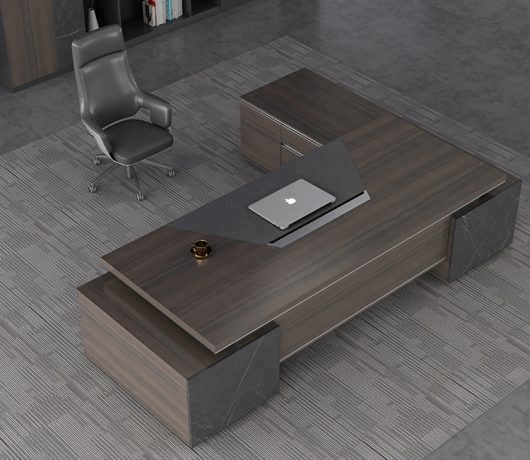 Bureau de bureau de luxe moderne
