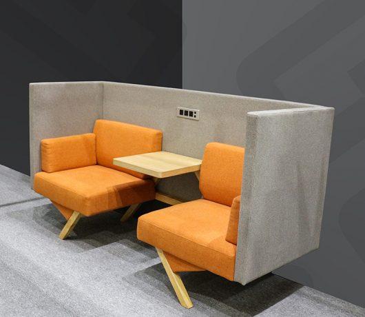 Sofá de recepção de escritório