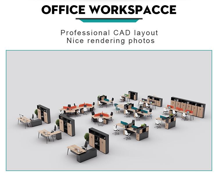 Современный офисный стол высокого класса WARNOCK-ZYZ-002