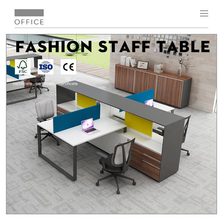 שולחן משרדי מודרני לבן