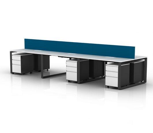 In hoogte verstelbare tafel