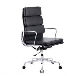 Chaise de bureau en cuir PU