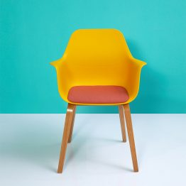 Cadeira de lazer de plástico
