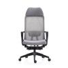 Chaise de bureau pivotante à dossier haut