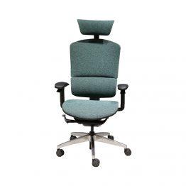 Cadeira de escritório ergonômica de malha