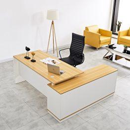 Mesa executiva de móveis de escritório para gerente de mesa