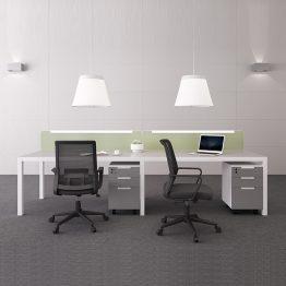 Estação de trabalho de móveis de escritório Estação de trabalho de móveis de escritório