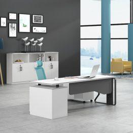 Mesa de mobiliário de escritório moderno