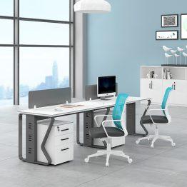 Estação de trabalho da mesa do computador do escritório Estação de trabalho da mesa do computador do escritório