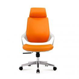 Cadeira executiva de couro para escritório