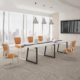 conferência de mesa de reunião